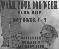 Walk Your Dog Week Blog Hop