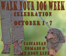 Walk Your Dog Week 2014 Badge