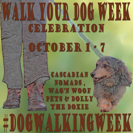 Walk Your Dog Week 2015 Badge
