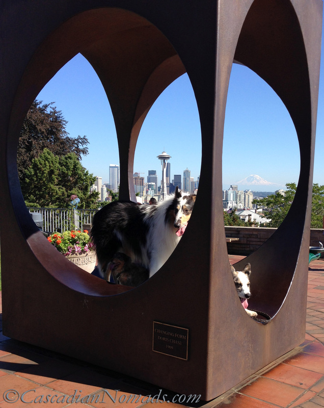 Changing Form by Doris Chase, Kerry Park, Seattle, Washington