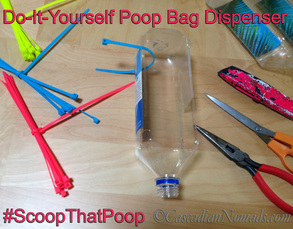 Make a Community Poop Bag Share Station, Help Neighbors Remember To #ScoopThatPoop