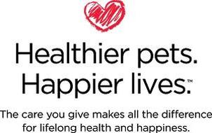 Healthier pets. Happier lives. #GetHealthyHappy